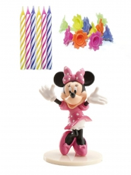 Kit décoration et bougies d'anniversaire Minnie™