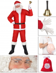 Pack déguisement de Père Noël classique