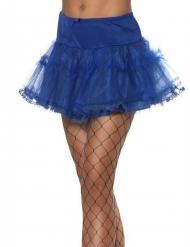 Jupon bleu roi femme