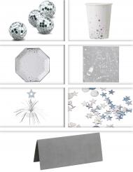 Pack décoration de table argent