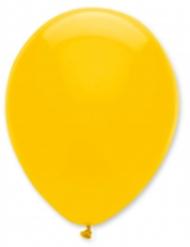 6 Ballons jaune foncé 30 cm