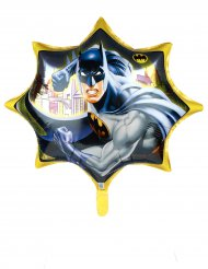 Ballon aluminium géant Batman™ jaune 71 cm