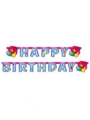 Bannière en carton Happy Birthday Party 179 x 13 cm
