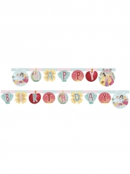 Guirlande happy birthday Disney Princesses™ 200 x 16 cm
