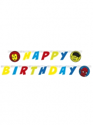 Guirlande happy birthday Avengers™ 200 x 16 cm