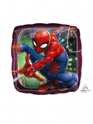 Petit ballon carré aluminium Spider-Man™ 23 cm