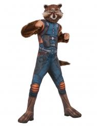 Déguisement luxe avec masque Rocket Raccoon™ enfant