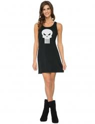 Robe noire Punisher™ femme