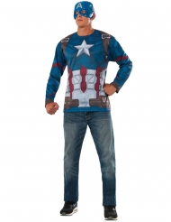 T-shirt et masque Captain America Civil War™ adulte