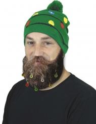 9 Clips pour barbe ou cheveux boules de Noël