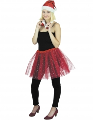 Tutu rouge scintillant adulte