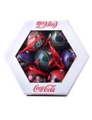 7 Boules de Noël Coca-Cola™ 7,5 cm