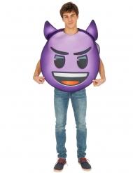 Déguisement Emoji diable™ adulte