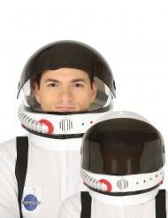 Casque astronaute visière amovible adulte