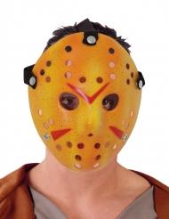 Masque de hockey blanc tueur en série adulte