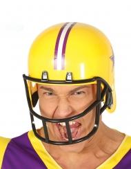 Casque de football américain jaune adulte