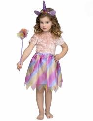 Déguisement licorne tutu violet fille