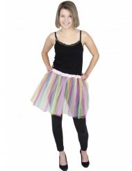 Tutu ballerine pastel multicolore adulte