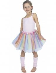 Tutu ballerine pastel multicolore enfant