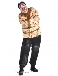 Déguisement clown interné homme