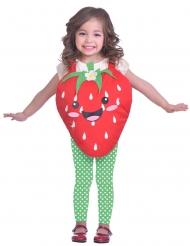 Déguisement mignone petite fraise fille