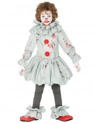 Déguisement clown assassin gris garçon