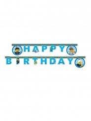 Guirlande en papier Happy Birthday FSC® Lego City™ 2 m