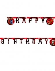 Guirlande en papier Happy Birthday FSC® Lego Ninjago™ 2 m