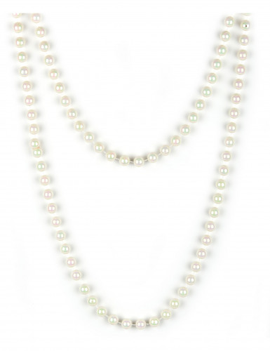 Sautoir de perles nacrées femme