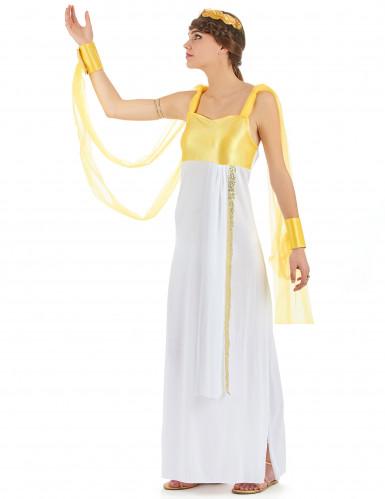 Déguisement déesse grecque femme -1