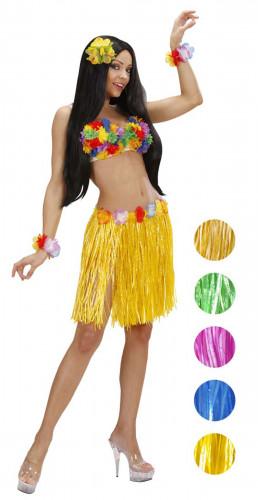 Oferta: Falda hawaiana con flores para mujer