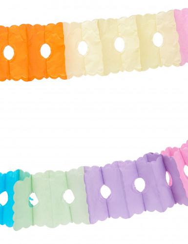 Guirlande en papier multicolore 6 m-1