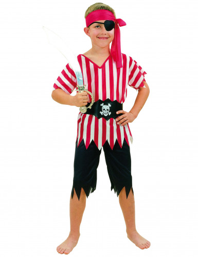Pirate Ship's Mate costume for boys.
