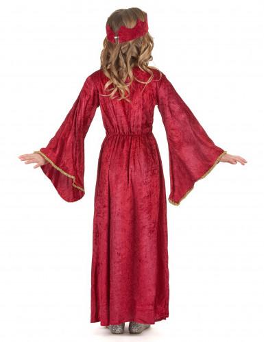 Déguisement reine médiévale fille-2