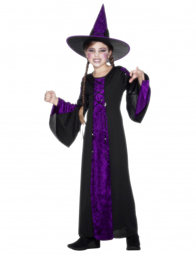 Halloween witch costume for girls.