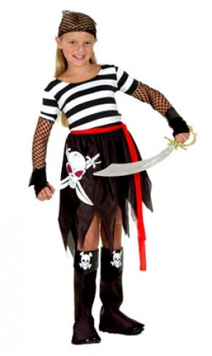 Piratinnen-Kost�m f�r M�dchen
