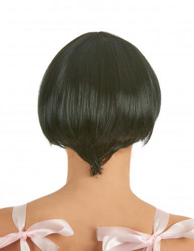 Perruque charleston noire femme-1