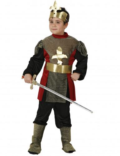 Déguisement noble chevalier médiéval garçon