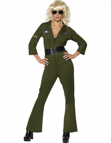 d guisement aviateur hottie top gun femme deguise toi achat de d guisements adultes. Black Bedroom Furniture Sets. Home Design Ideas
