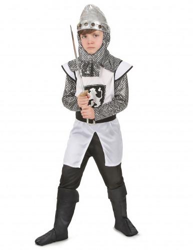 Disfraz de caballero cruzado medieval para ni�o