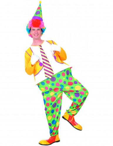 Clowns-Kost�m f�r Herren