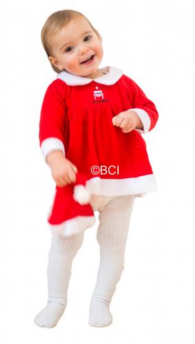 Déguisement mère Noël bébé