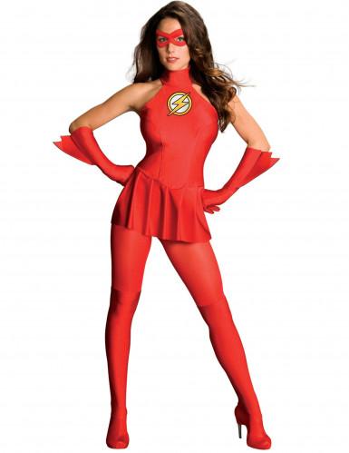déguisement femme flash