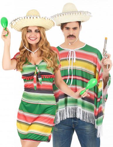 Déguisement couple mexicains