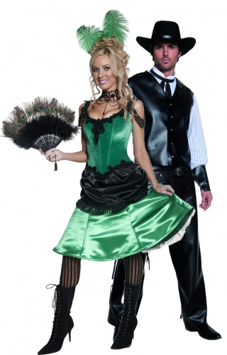Western costume for couples