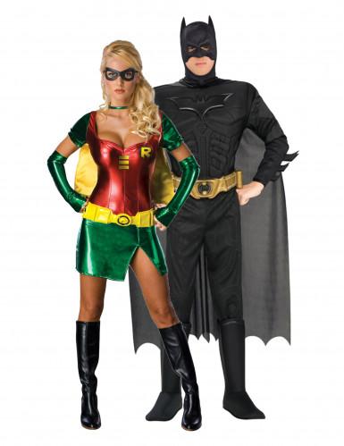 Déguisement couple Batman et Robin™