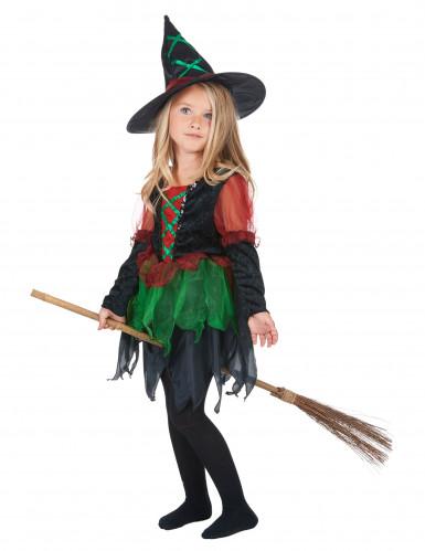 Déguisement sorcière des bois fille Halloween-1