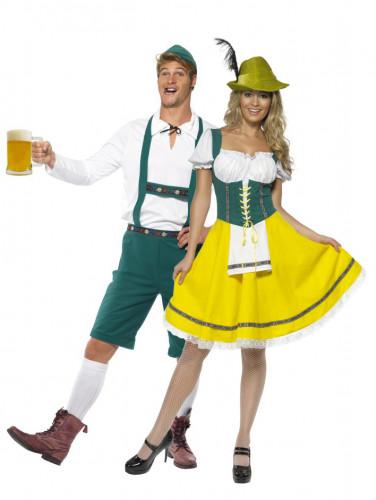 Déguisements couple bavarois