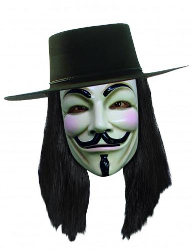 Perruque V pour Vendetta™ adulte