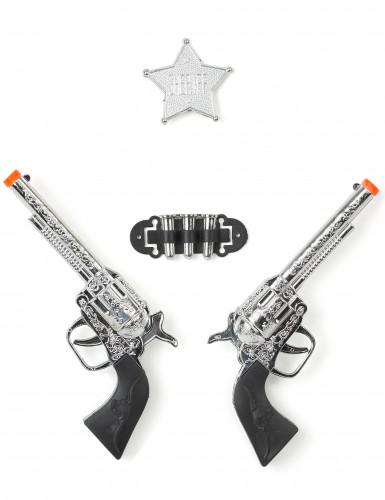 Set de 2 pistolets adulte